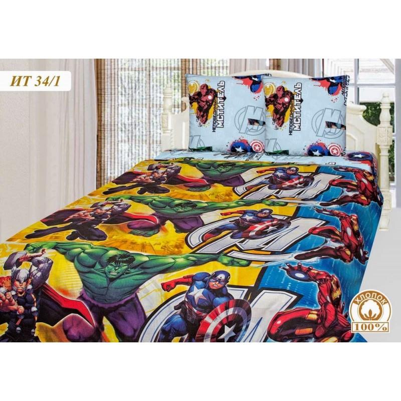Комплект постельного белья AVENGERS фото