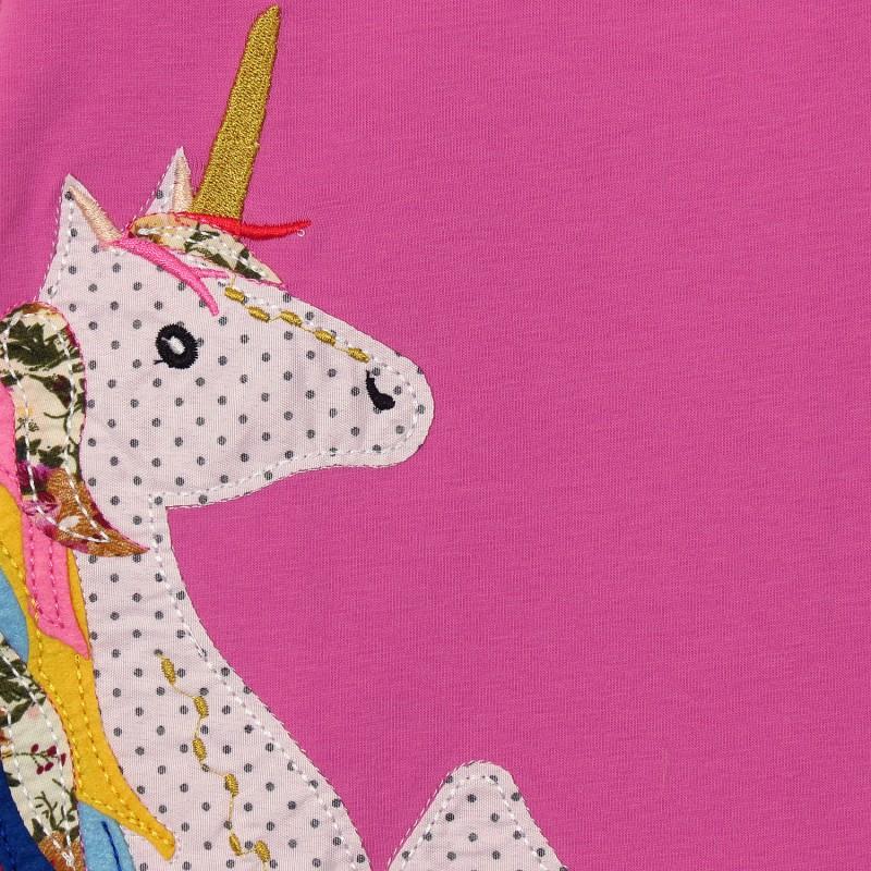 фото детское платье единорог