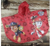 Дождевик детский paw patrol Disney красный