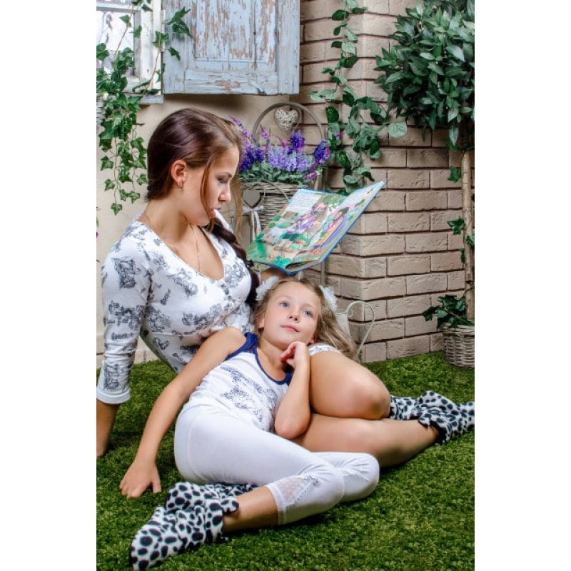 фото детские комнатные тапочки Далматинец