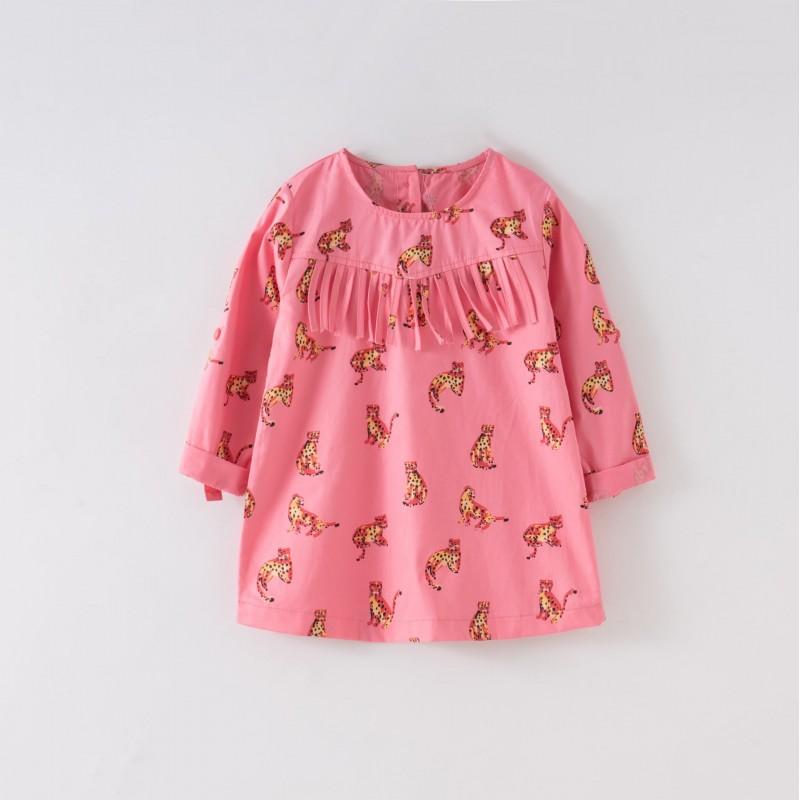 Платье для девочки Леопарды