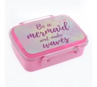Контейнер для еды Mermaid 420 мл с разделителем