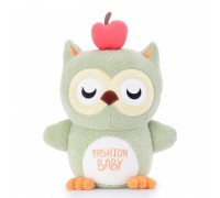 Мягкая игрушка Волшебная зеленая сова, 20 см
