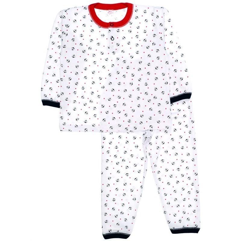 фото пижама детская якорь