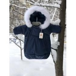 фото детский зимний комбинезон-мешок