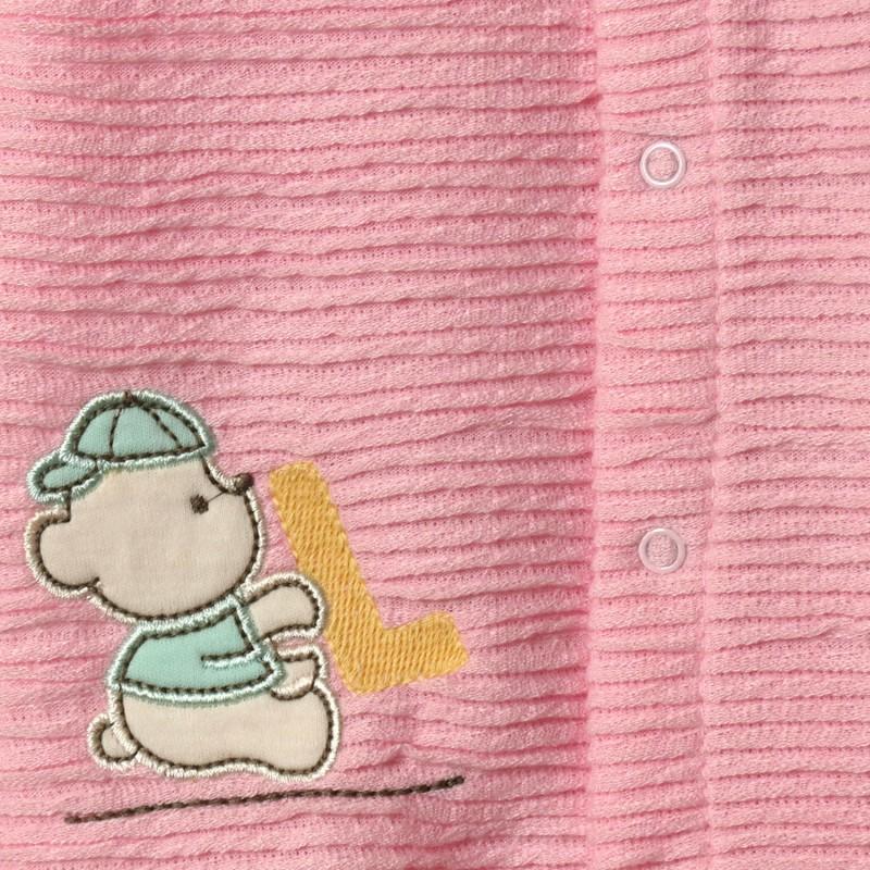 Человечек для девочки Азбука, розовый