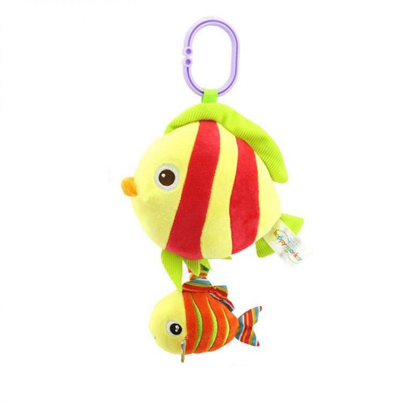 Мягкая музыкальная подвеска Рыбка