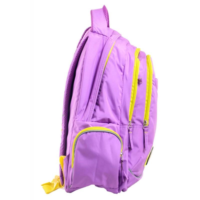 Рюкзак подростковый сиреневый осокорки