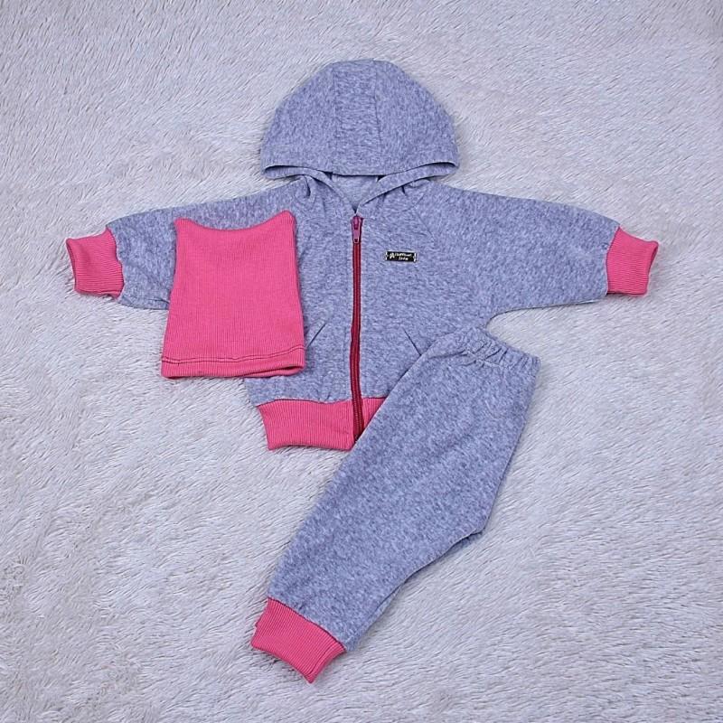 Спортивный костюм новорожденным велюр