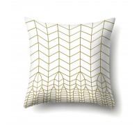 Наволочка декоративная Golden mesh 45 х 45 см