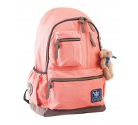 Рюкзак подростковый персиковый 30 * 47 * 16