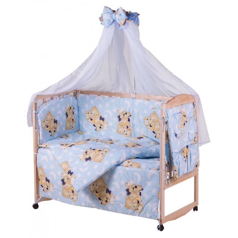 фото Бортики в кроватку Мишки спят