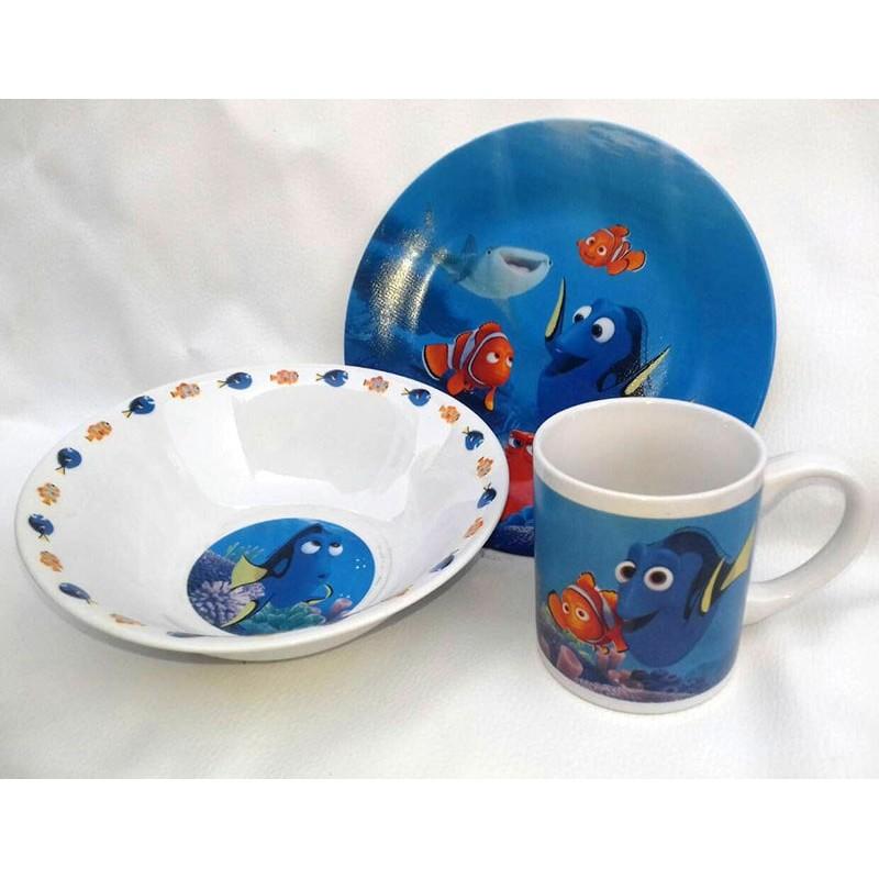 фото Детская посуда фарфор Немо