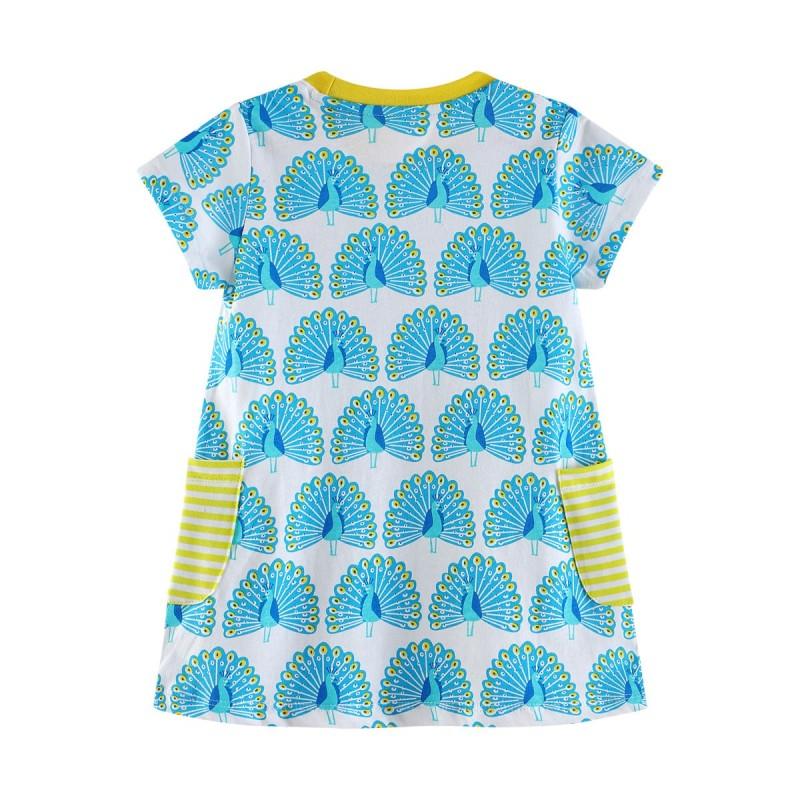 Платье для девочки Павлин