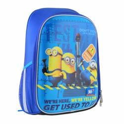 Рюкзак школьный каркасный Minions