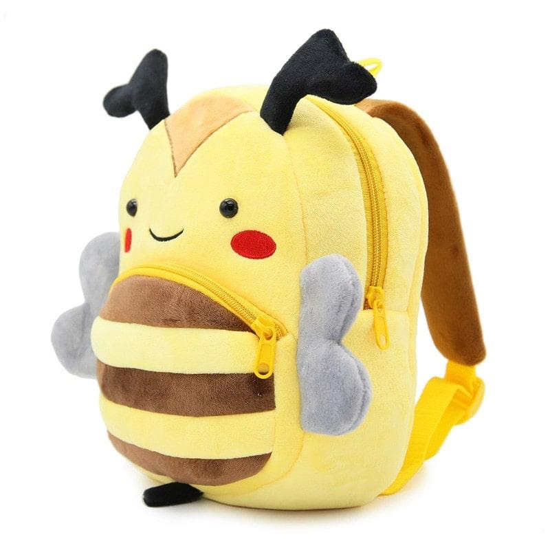 Рюкзак велюровый Пчела