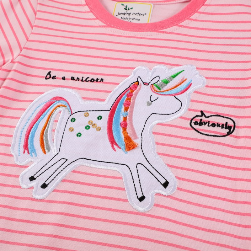 Лонгслив для девочки Be a unicorn