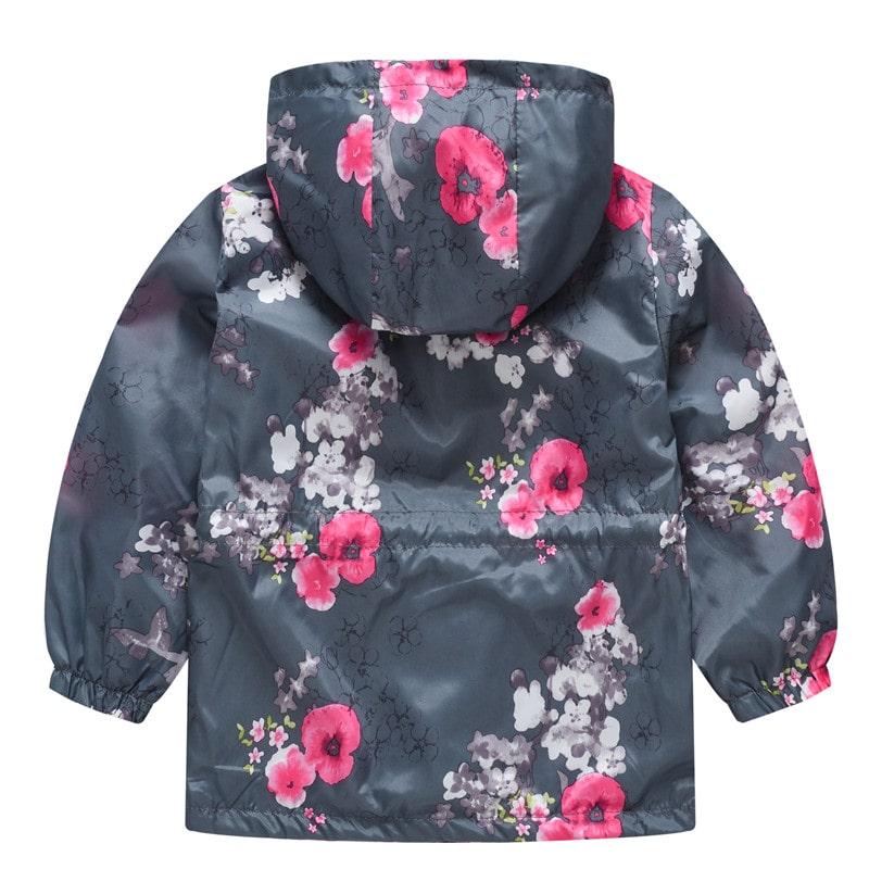 Куртка-ветровка для девочки фото