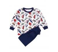 Пижама детская машынки