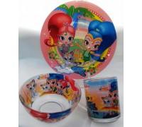 Посуда детская Шымер и шайн подарочный набор 3ка