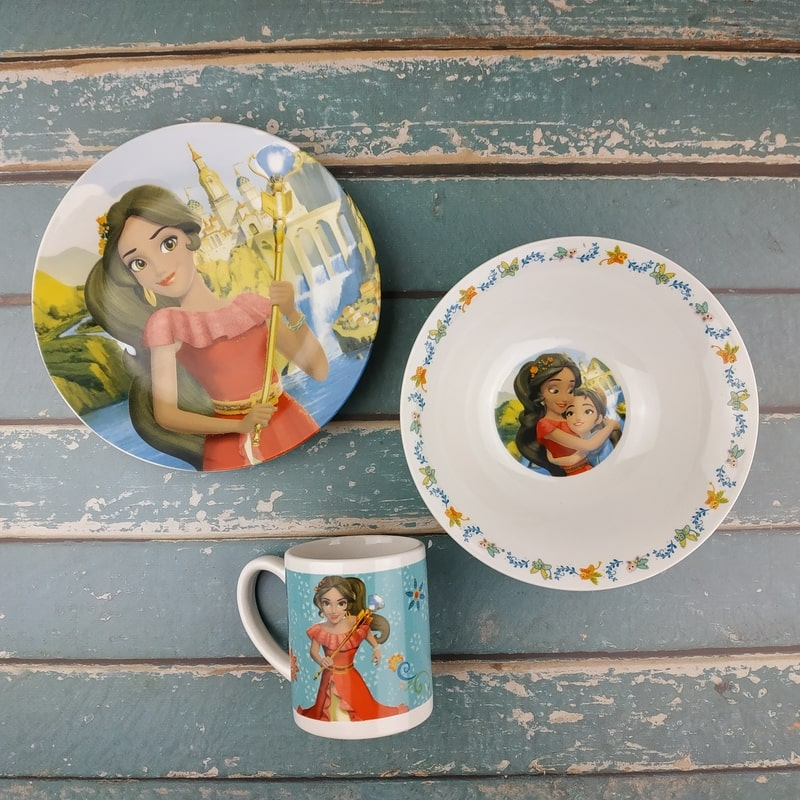 фото Набор детской посуды Elena