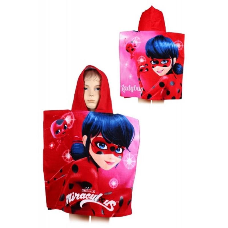 фото дитячий рушник пончо капюшон леді баг