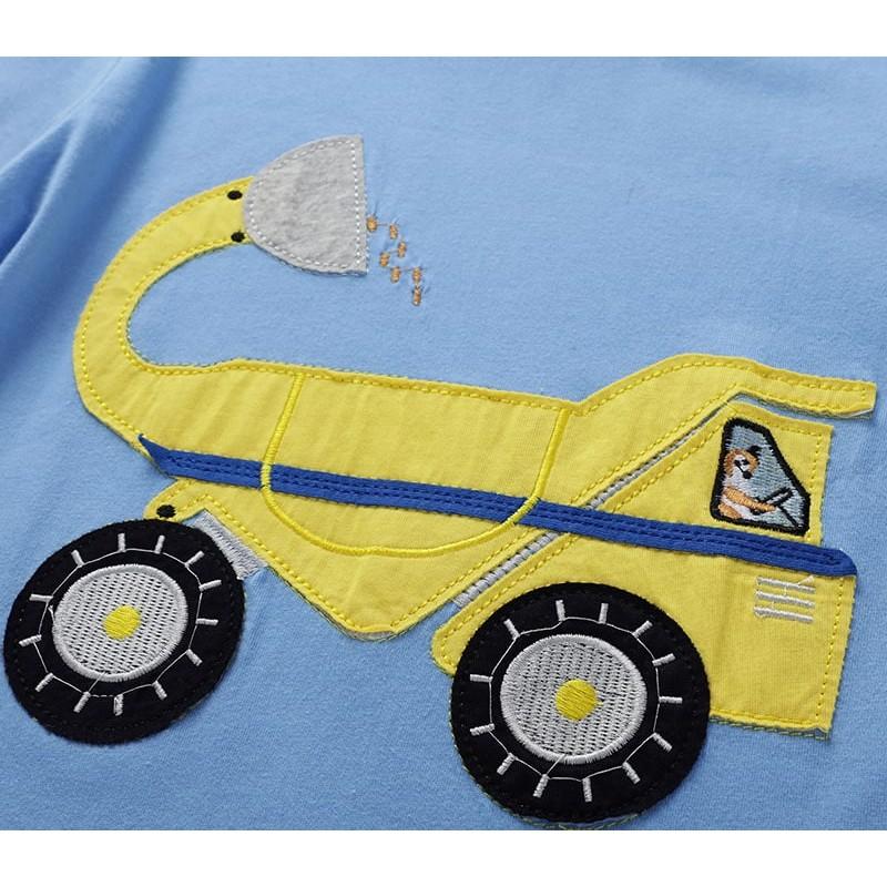 Кофта для мальчика Желтый грузовик фото