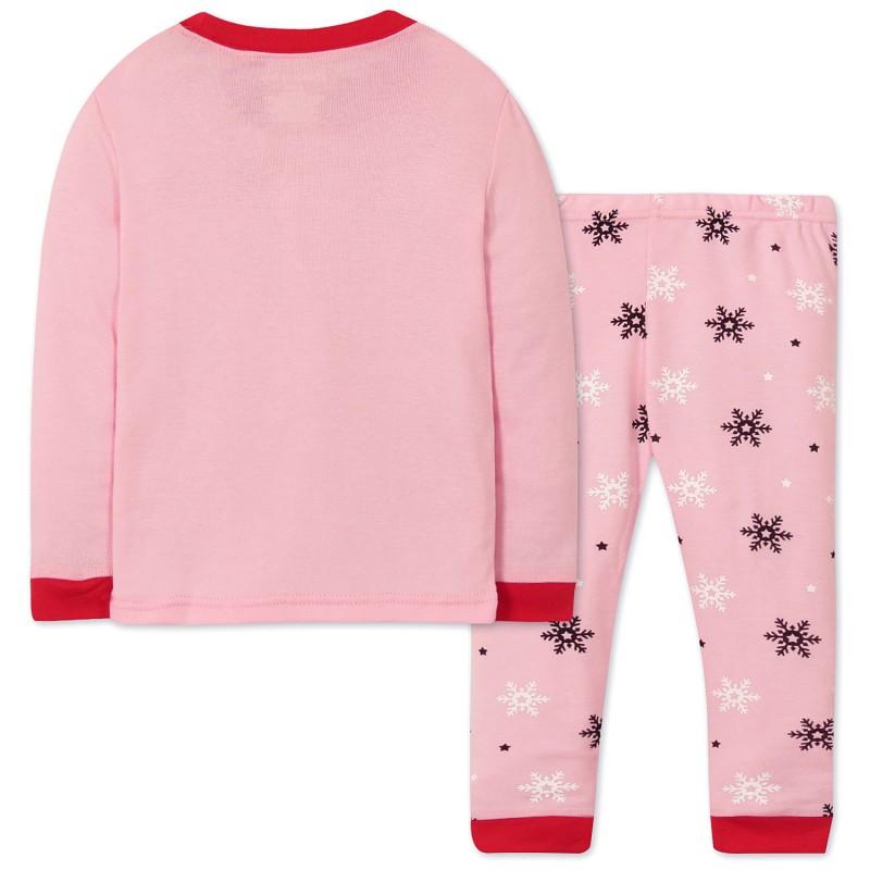 Пижама Снеговик девочке