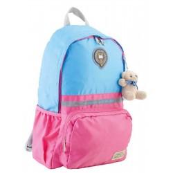 Підлітковий Рюкзак блакитно-рожевий 29*45*13