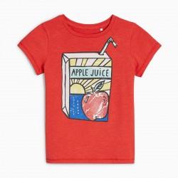 Детская футболка Яблочный сок