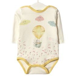 Боди детский Желтый воздушный шар
