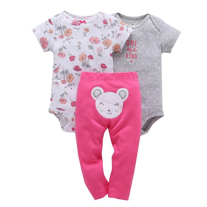 Комплект для девочки боди и штаны