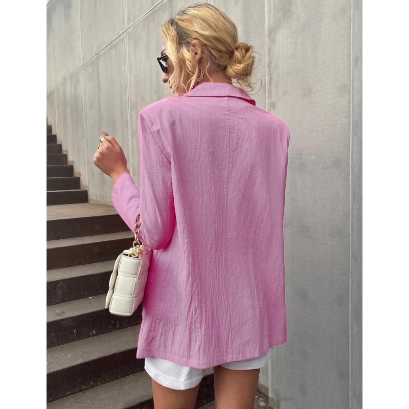 Блейзер женский с накладными карманами