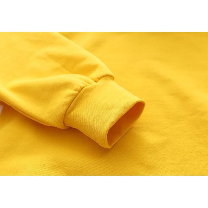 Свитшот детский Words, желтый
