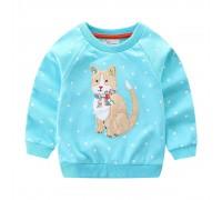 Детская кофта Кошка