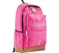 Рюкзак подростковый розовый 29*47*17