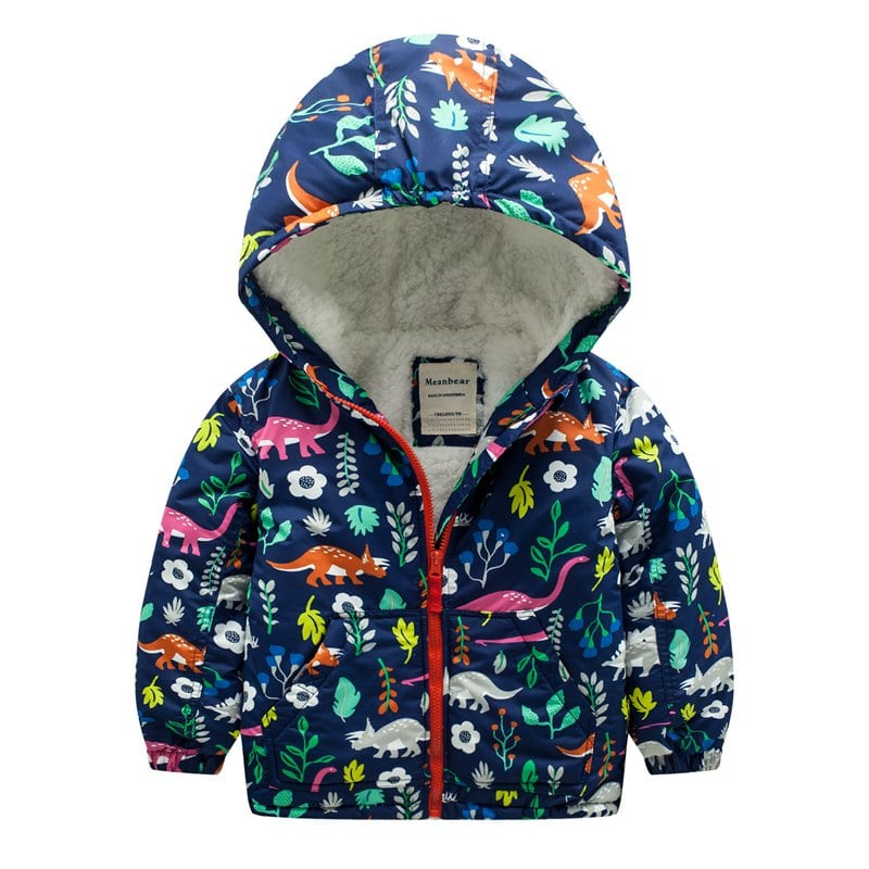 Куртка для девочки Дино