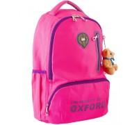 Рюкзак подростковый розовый