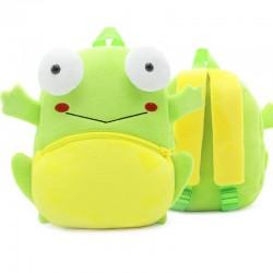 Рюкзак велюровый Лягушка