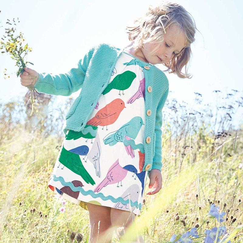Платье для девочки Птички