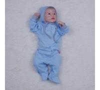 Человечек-пижамка Mini (голубой)
