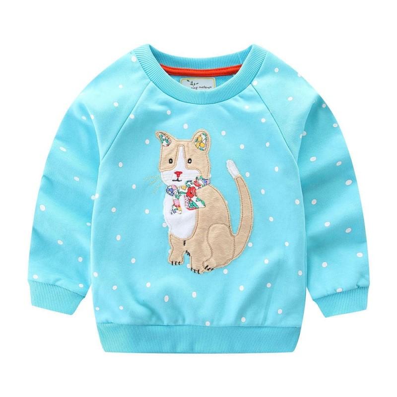 Детская кофта Кошка недорого