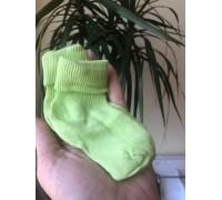 Носочки детские (салат)