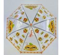 Зонтик детский 75 см Совы