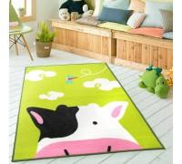 Коврик для детской комнаты Коровка 100 х 130 см
