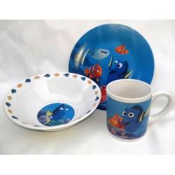 Детская посуда Интерос NEMO фарфор 3 предмета