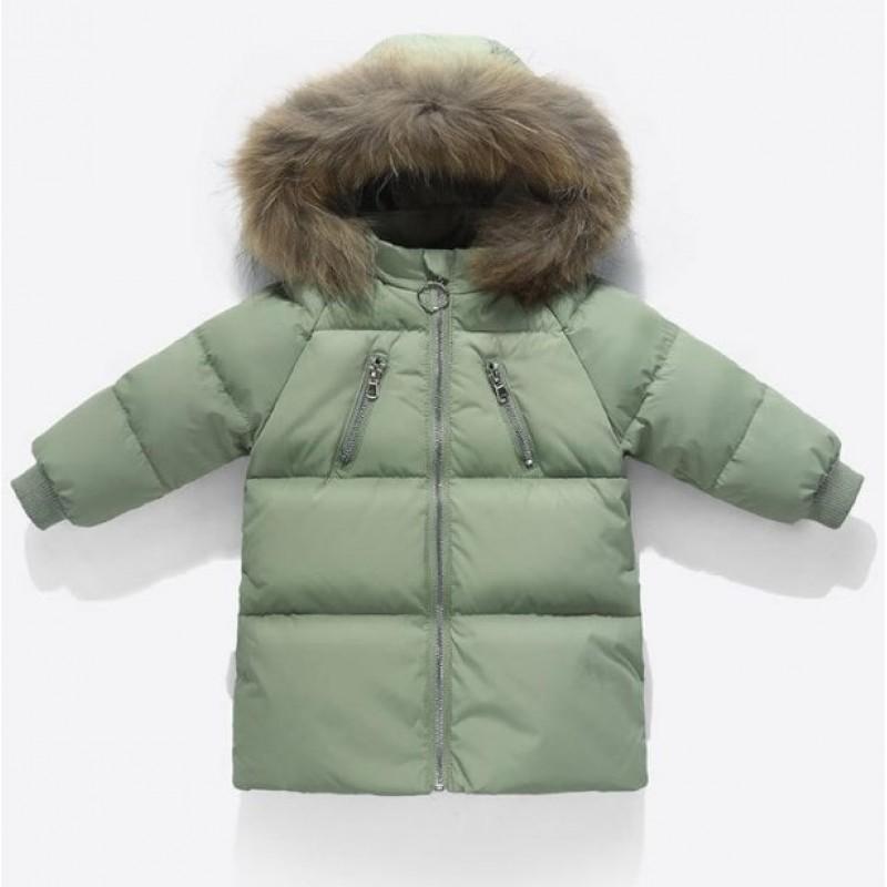Куртка-пуховик детская украина