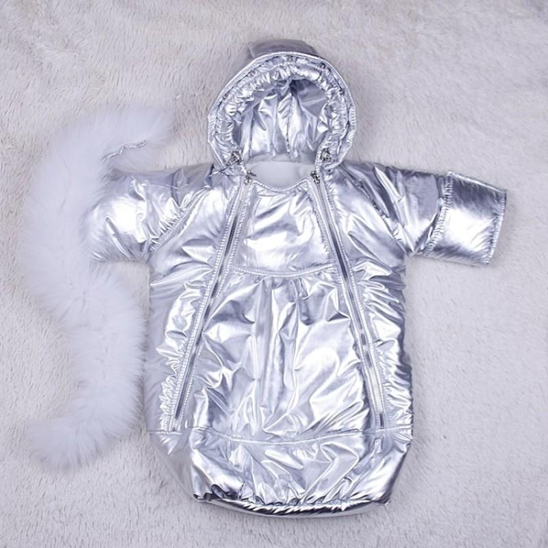 фото детский комбинезон-мешок зима