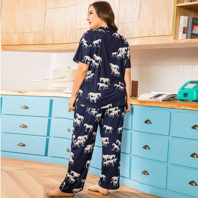 Пижама женская Horse family