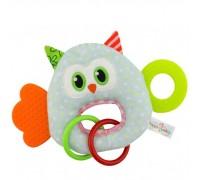 Мягкая игрушка - прорезыватель Удивлённая сова